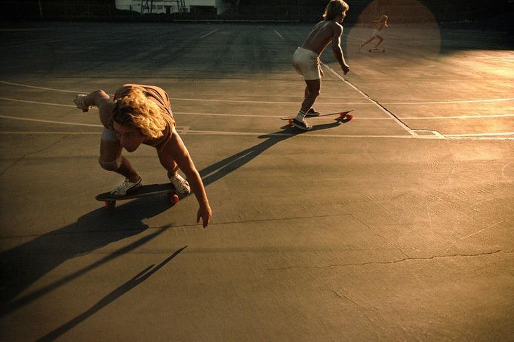 70s Skateboard Culture Dog Day