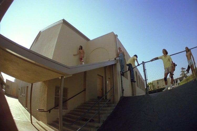 70s Skateboard Culture Schoolyard