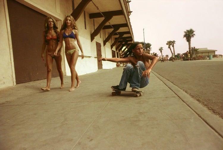 70s Skateboard Culture Sidewalk Surfer