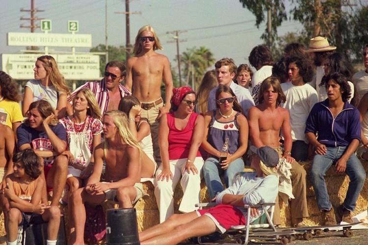 70s Skateboard Culture Spectators