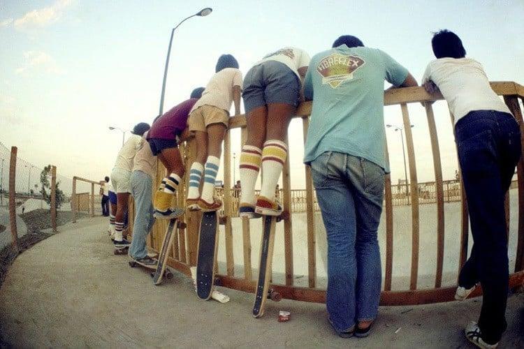 70s Skateboard Culture Tube Socks