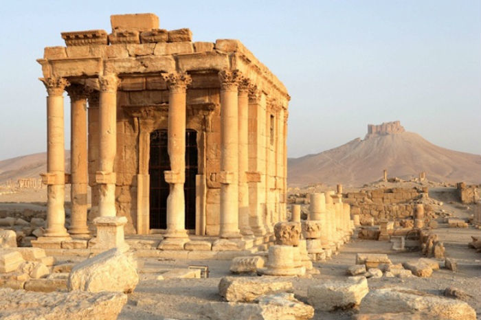 Temple Destroyed By ISIS