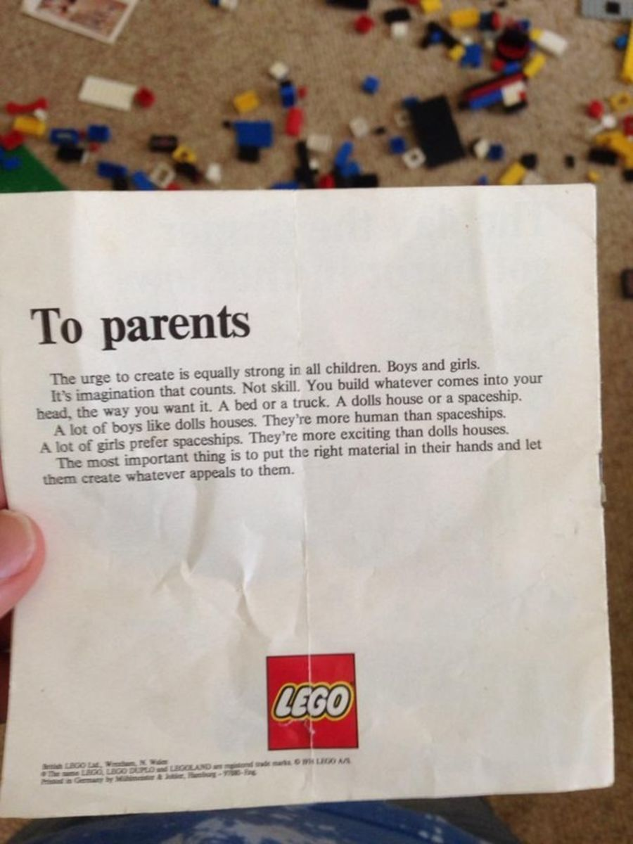 Lego Letter From The 1970s
