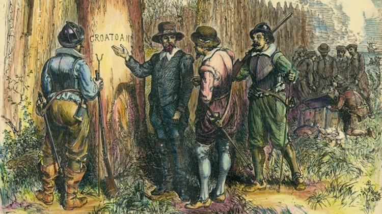 New Roanoke Discovery Croatoan