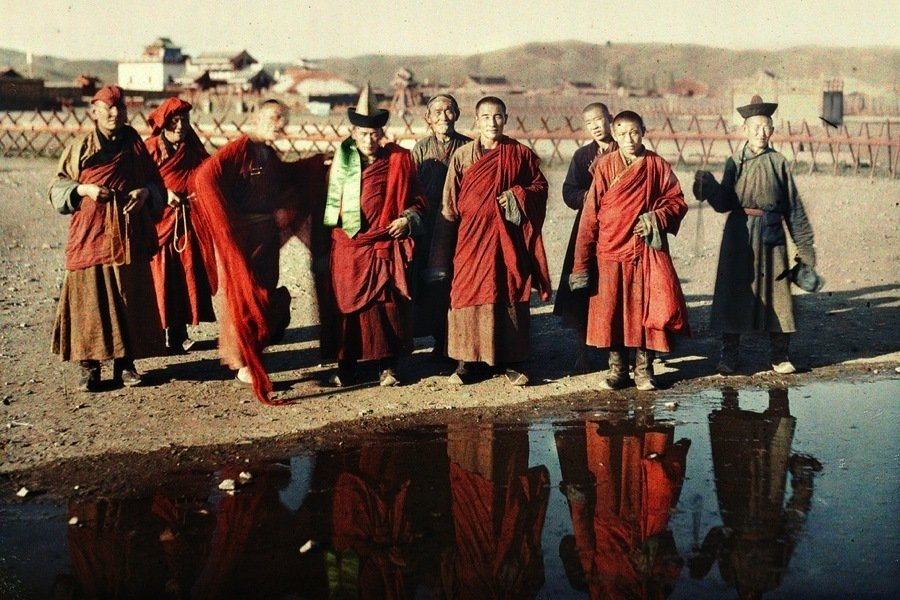 Vintage Mongolia Photos