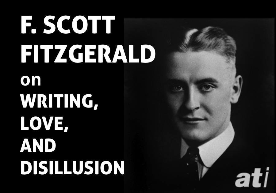 Amazoncom F Scott Fitzgerald Love Quote Handtyped On Vintage