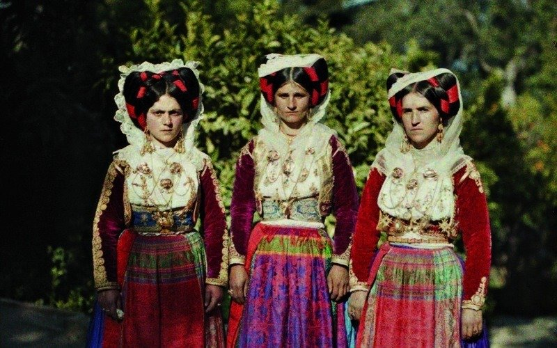Women In Corfu Greece