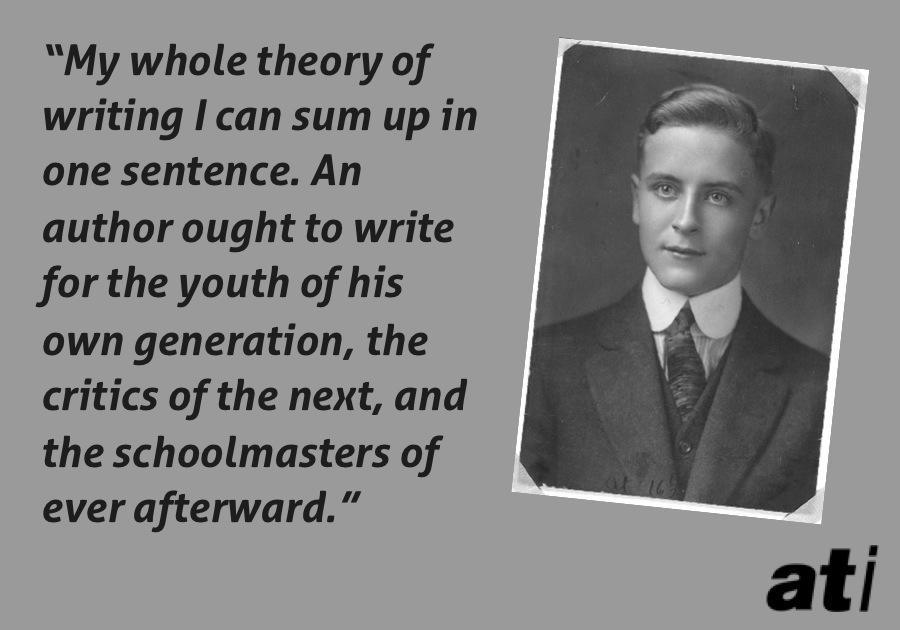Fitzgerald Whole Theory Of Literature