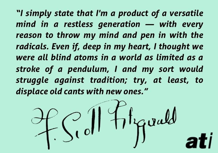 Fitzgerald Versatile Mind Restless Generation