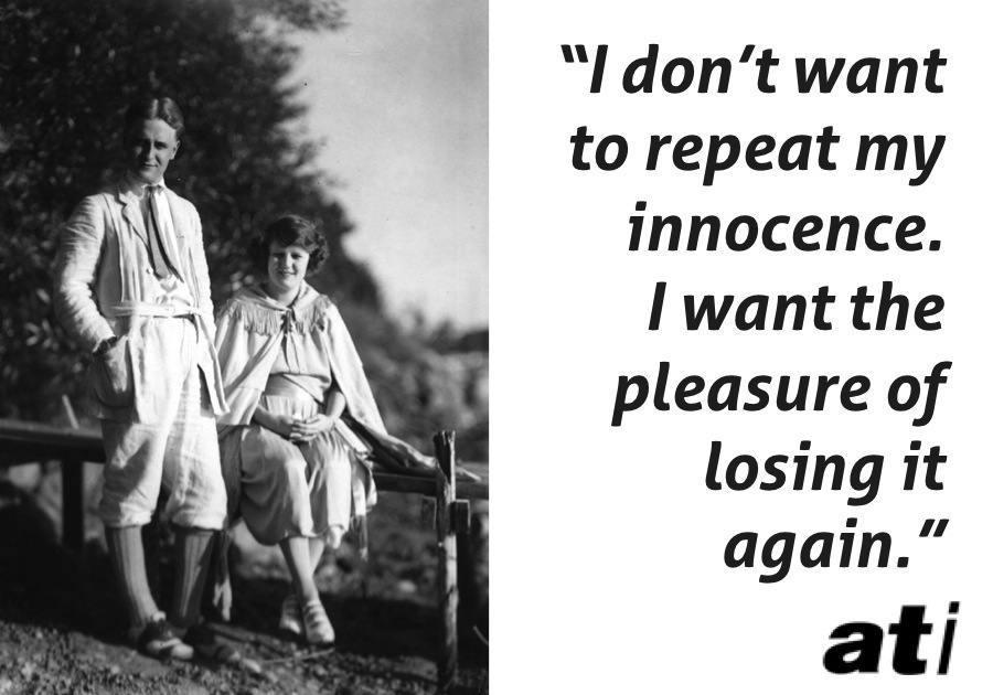 F Scott Fitzgerald Zelda Fitzgerald