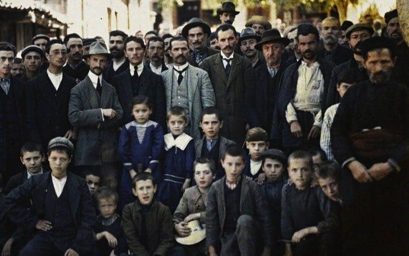 Greek Refugees Balkans Auguste Léon