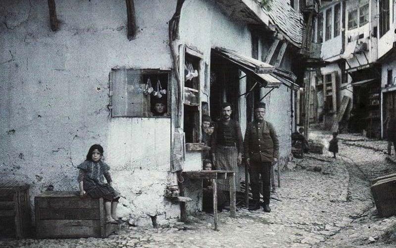 Ohrid Macedonia 1913 Auguste Léon