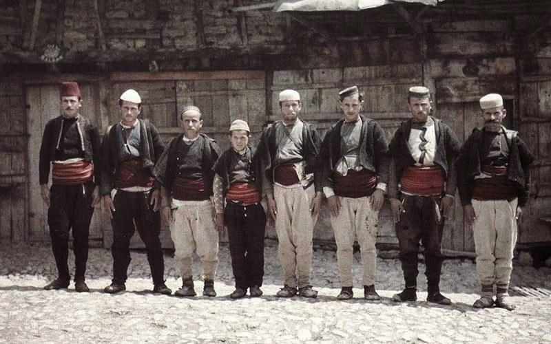 Macedonian Men Albert Kahn