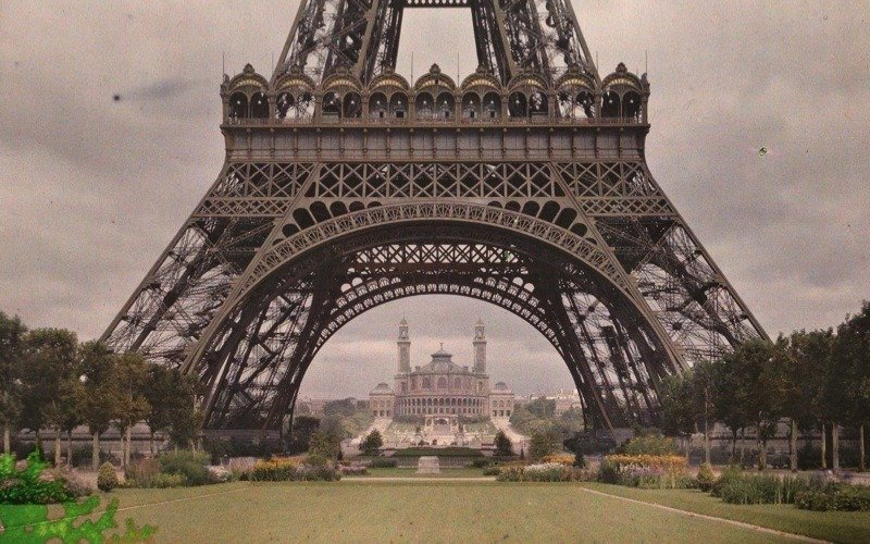 Eiffel Tower Archives Of The Planet