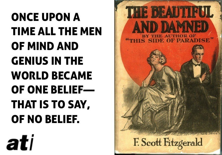 Fitzgerald Beautiful And Damned Quote