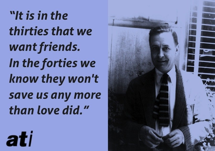 Scott Fitzgerald Friends Thirties Forties