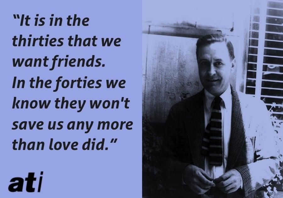 Scott Fitzgerald Friends Thirties Forties