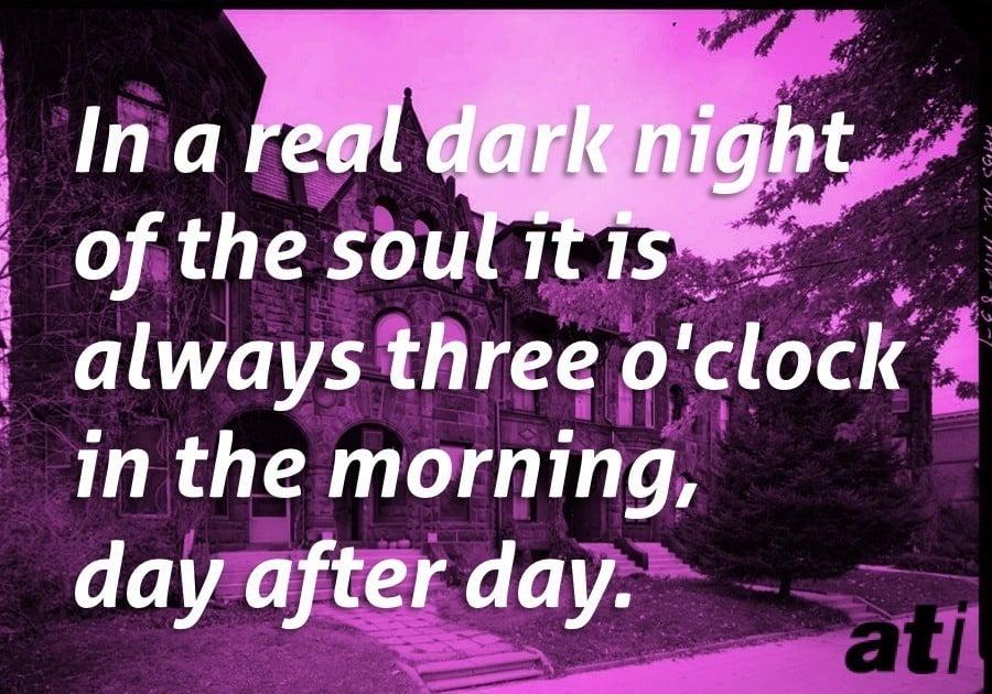 Scott Fitzgerald Dark Night Soul