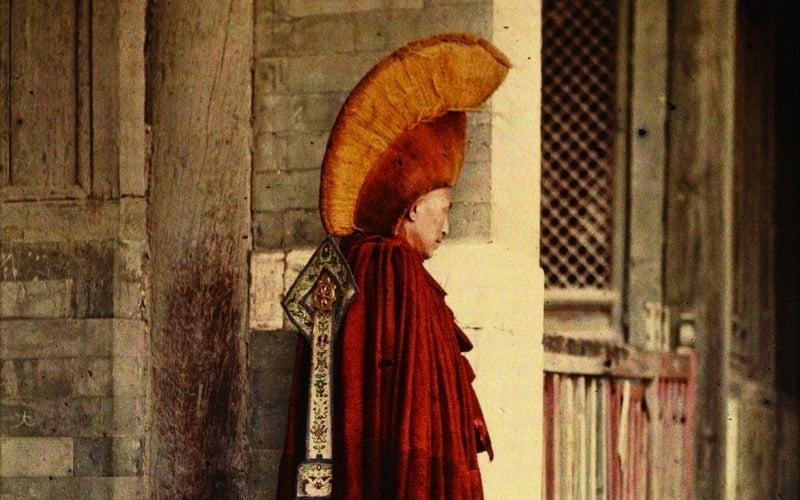 Buddhist Monk In Beijing