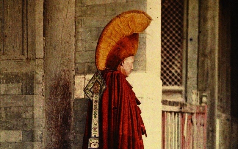 Buddhist Monk Beijing Albert Kahn