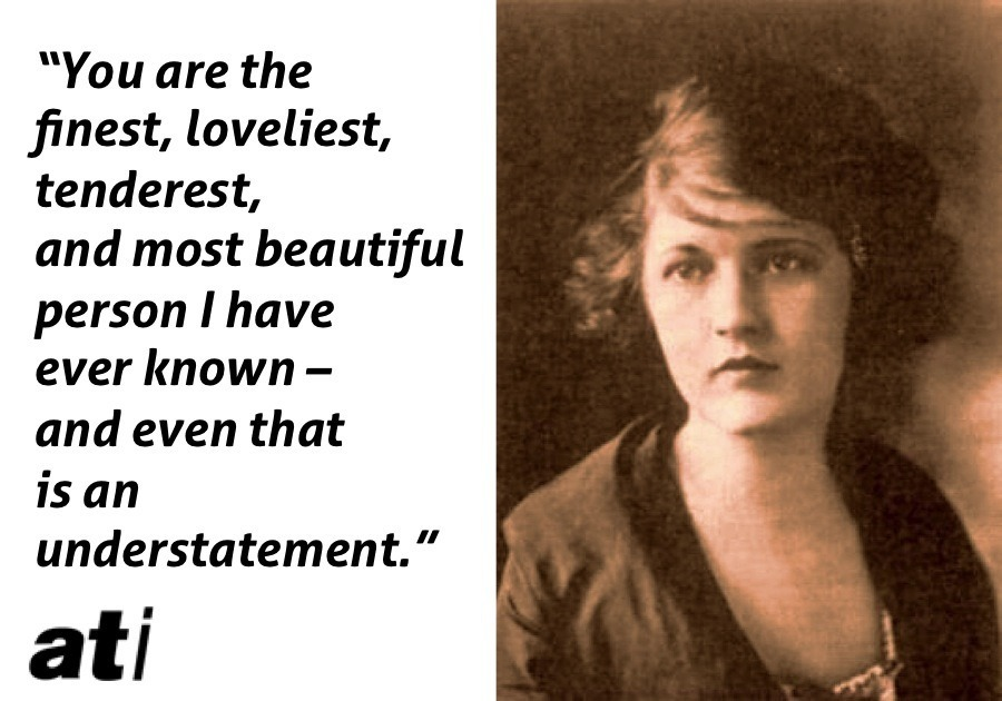 Zelda Fitzgerald Finest Loveliest Tenderest