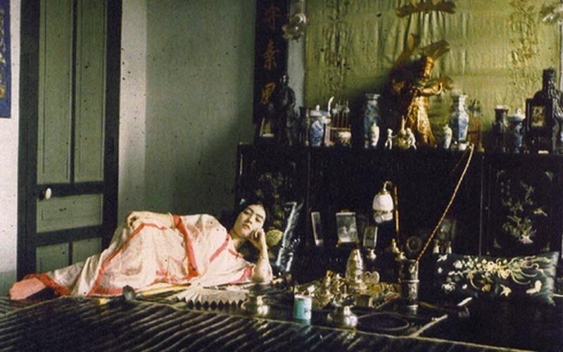 Vietnamese Woman Reclining Albert Kahn