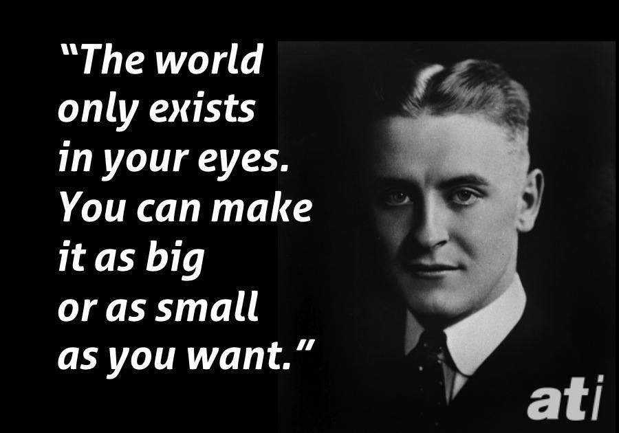 Scott Fitzgerald The Crack-Up