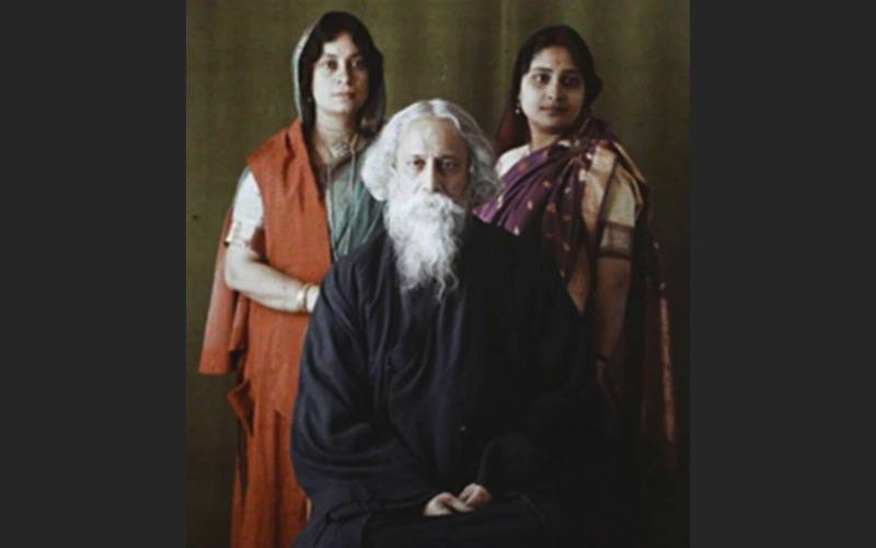 Rabindranath Tagore India Autochrome