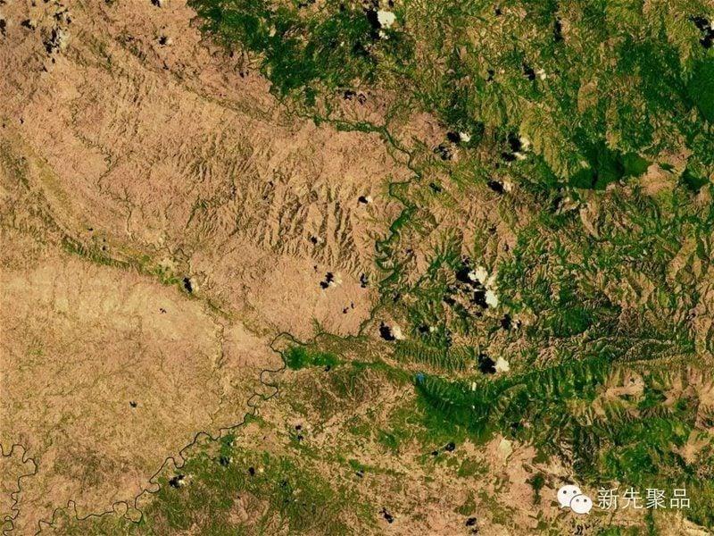 Aerial Borders Hispanola Trees