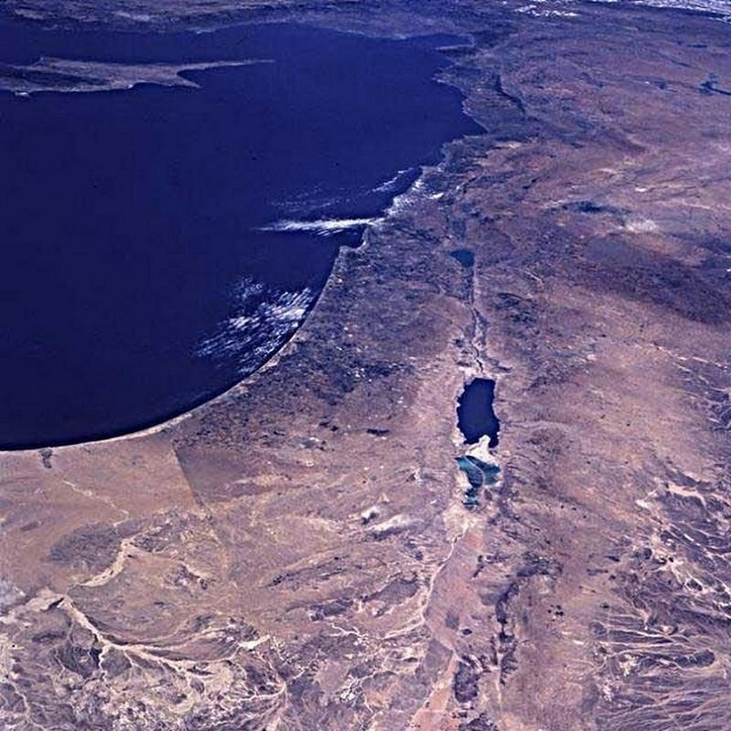 Aerial Borders Palestine Space