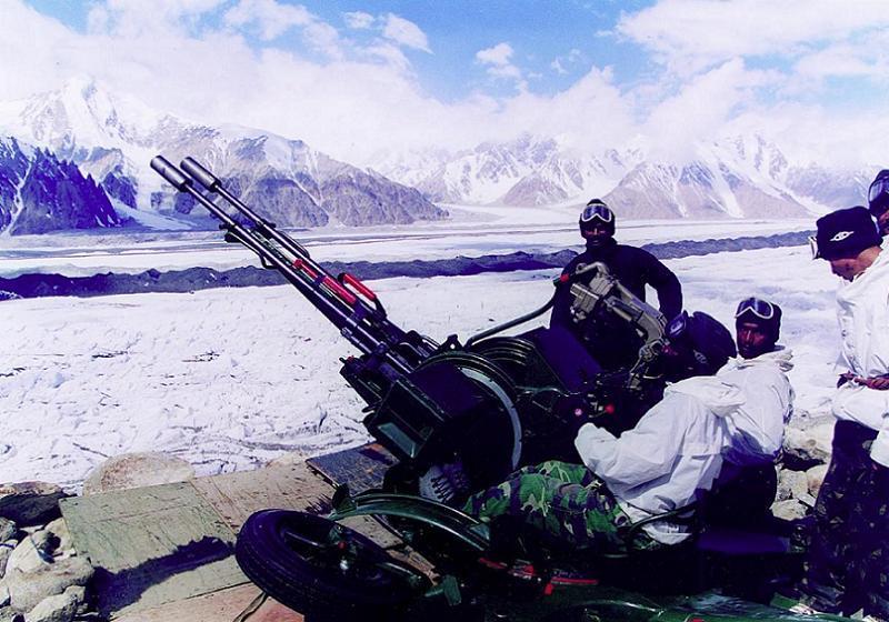 Aerial Borders Siachen Gun