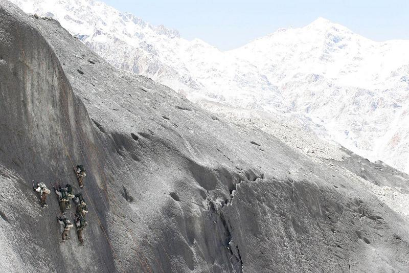 Aerial Borders Siachen Mountaineers