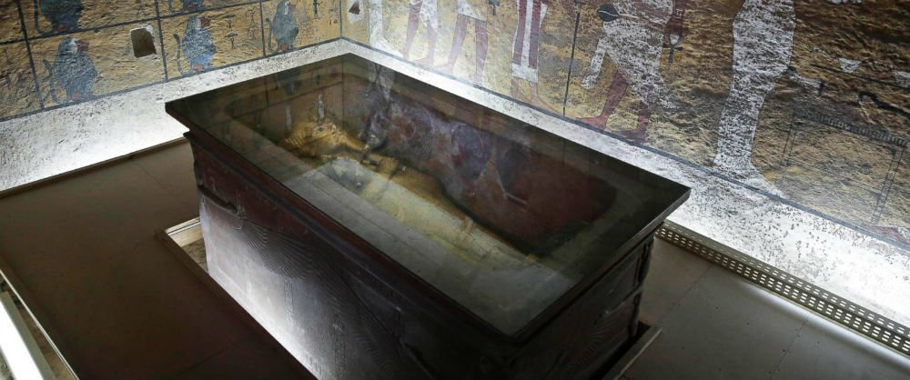 Photo Of The Day: King Tut's Tomb May Contain Hidden Chambers