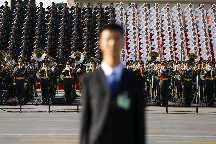 China Military Parade Band