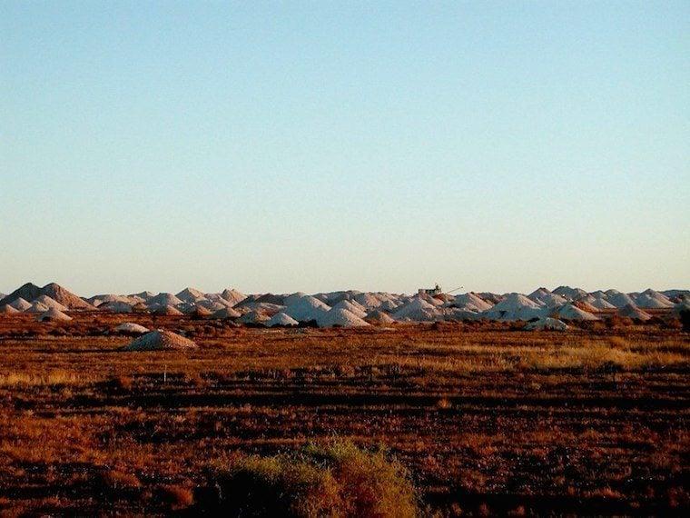 Landscape Of Coober Pedy