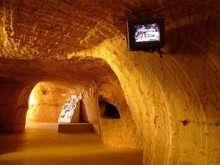 Coober Pedy Underground Hallway