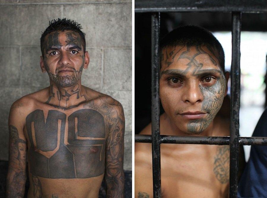 El Salvador Gang Portraits
