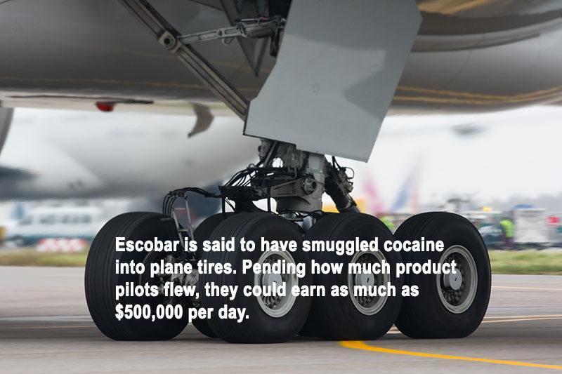 Escobar Facts Plane Tires Copy