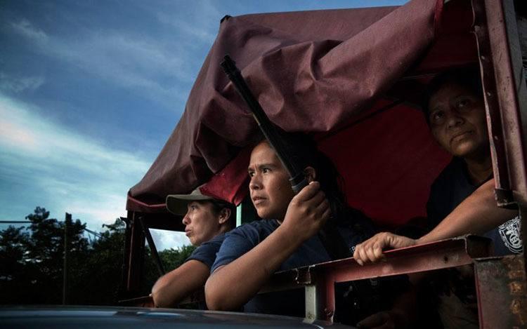 Female Vigilantes Mexico
