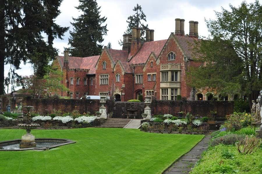 Tudor Gothic Mansion