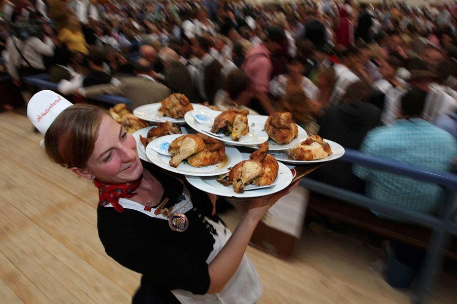Historic Oktoberfest Chicken