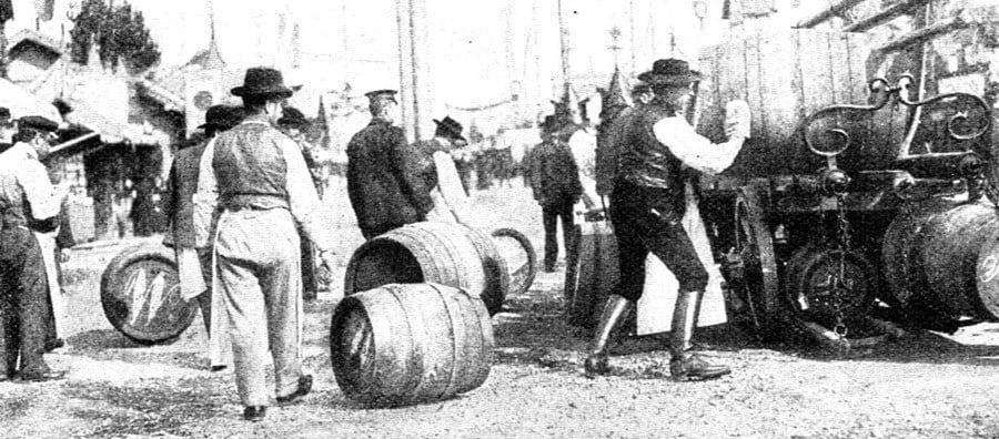 Historic Oktoberfest Delivery 1908