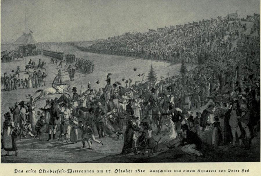 Historic Oktoberfest First 1810