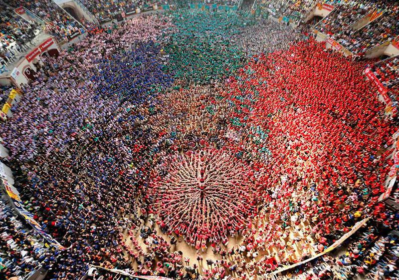Human Tower Competition Castells