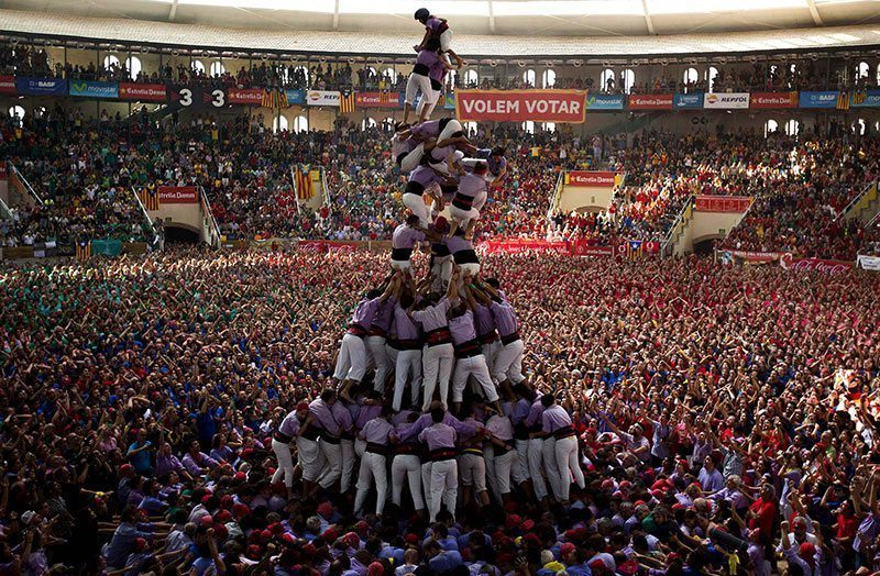 Human Tower Competition Unesco 2010