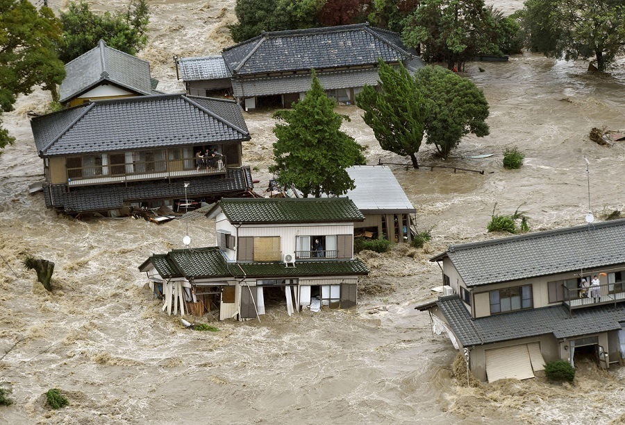 Japan Flood Houses