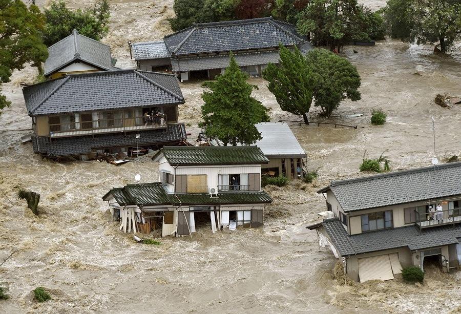 Japan Flood Houses