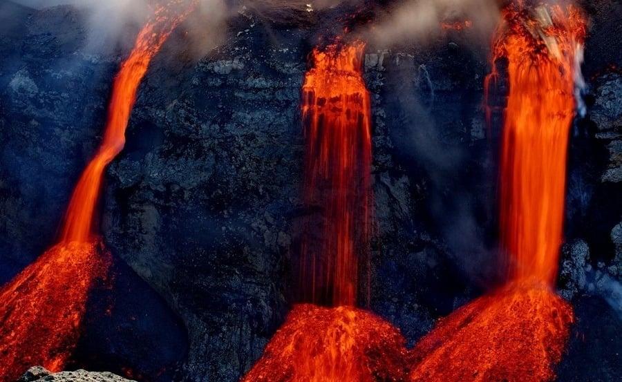 Lava Waterfalls