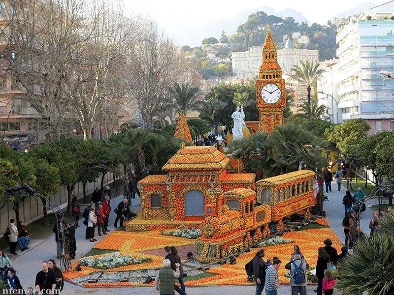 Citrus Festival Aerial
