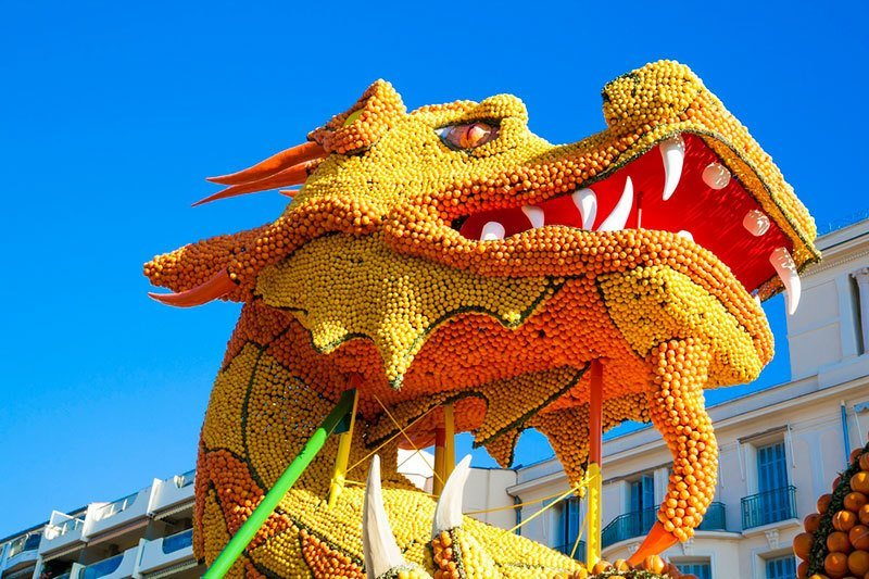 Lemon Festival Dragon